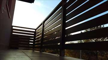 Aluminijumske ograde i kapije u boji drveta
