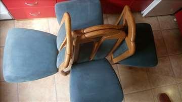 Stolice od punog drveta