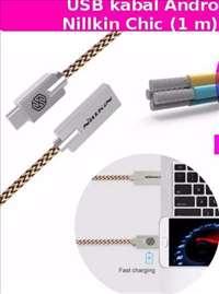 USB kabal Android Tip C Nillkin Chic (1 m) - zlatn