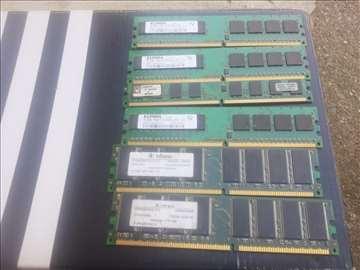 RAM memorije - 6 komada