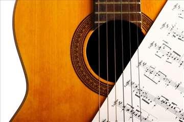 Časovi klasične gitare, za početnike