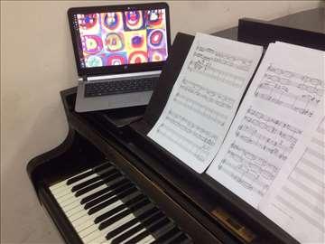 Časovi muzičkih oblika, harmonije i kompozicije