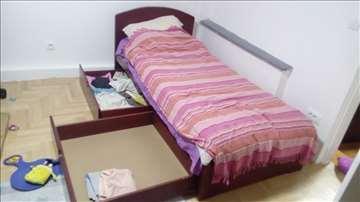 Krevet samac sa fiokama