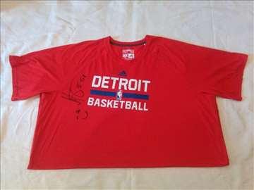 Bobi Marjanović, čudesna potpisana Detroit majica