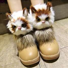 Čizme za sneg sa cica macom 35, 36, 37, 38, 39, 40