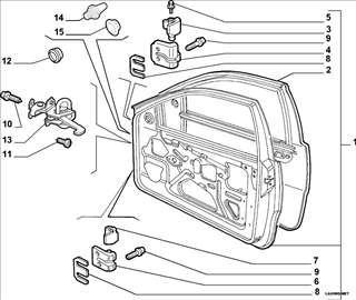 Fiat Punto II 3 Vrata Granicnik Prednjih Vrata, NO