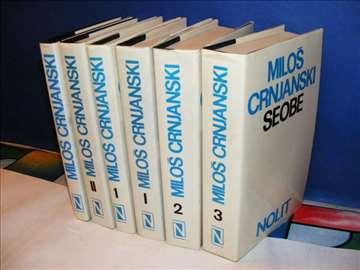 MILOŠ CRNJANSKI 6 knjiga