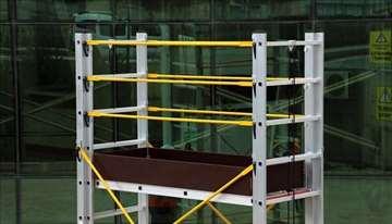 Aluminijumska pokretna skela 6.7m tri modula