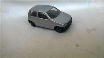 Burago Fiat Cinqvecento ,1:43. China, prefarban