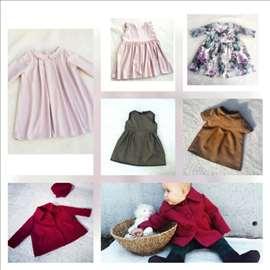 Haljinice za devojčice i bebe