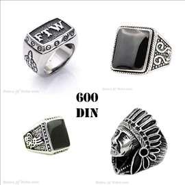 Muško prstenje od nerđajućeg čelika