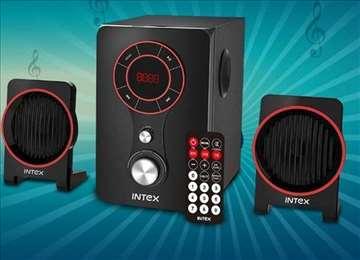 Bluetooth zvučnici 2.1 MP3 FM radio Intex 211