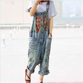 Hip hop kombinezon Denim Jumpsuits sl.A