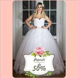 Popust do 50% na iznajmljivanje venčanice