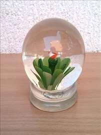 Stakleni ukras - držač za papir