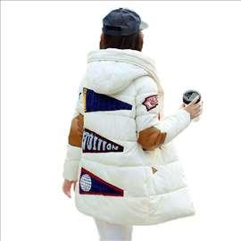 Topla ženska zimska jakna LYJDIQ sa kapuljačom sl.