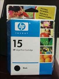 HP original inks. 15 black.