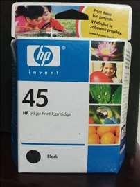 HP original inks. 45 black.