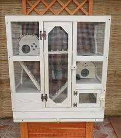 Kavez sa opremom za kucne ljubimce
