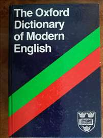 The Oxford for Modern English