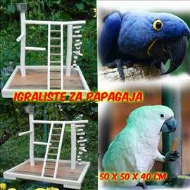 Igraliste za manje papagaje-Vardarac