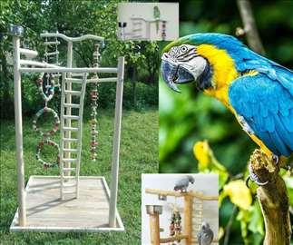Veliki izbor igrališta za papagaje