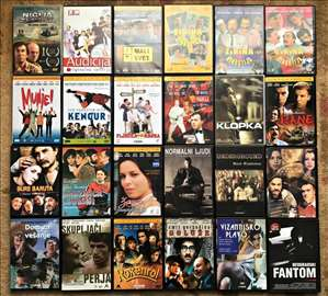 Filmovi raznih žanrova, lična kolekcija