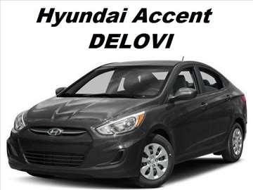 Hyundai Accent novi i polovni delovi