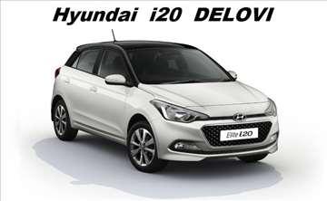 Hyundai i20 novi i polovni delovi