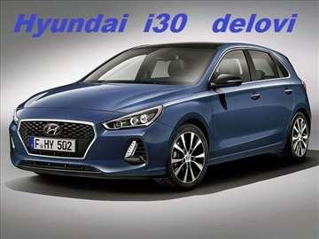 Hyundai i30 novi i polovni delovi
