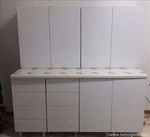Kuhinja bela visoki sjaj