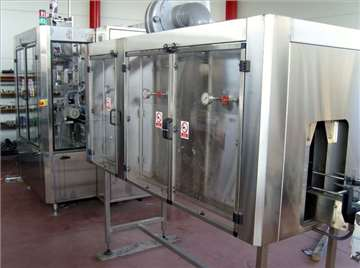 Na prodaju sleev mašina kapaciteta 5.000 boca