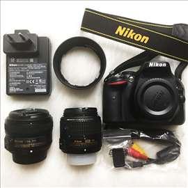 Nikon D5200 (+18-55mm VR II) + AF-S 50 mm f/1.8