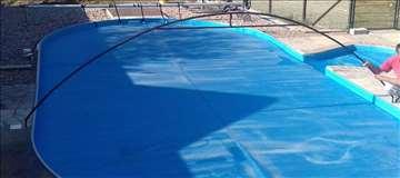 Konstukcija za pokrivanje bazena