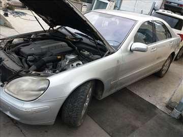 Mercedes S 500 u delovima