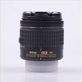 Nikon AF-P 18-55mm VR - kao NOV