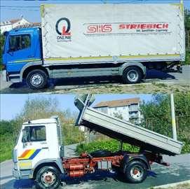 Kamionski prevoz online 00-24h