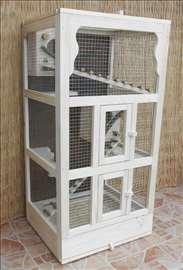 Kavez za veverice sa podnom resetkom