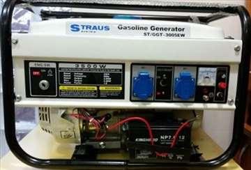Benziski agregat / pali na kljuc / NOVO