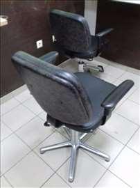 Frizerske stolice, 3 komada