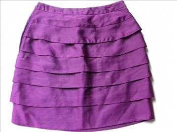 H&M ljubičasta suknja, vel. S, novo