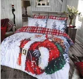 novogodisnja posteljina za bracni krevet