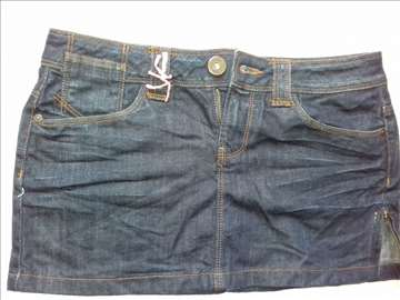 Only jeans mini suknja, M, novo