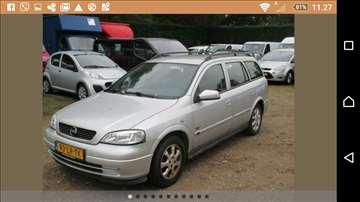Opel Astra 1.7 dt,servisna