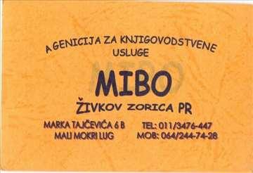 """Agencija za knjigovostve usluge """"Mibo"""""""