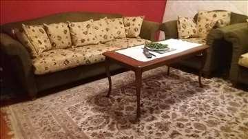 Italijanski trosed i 2 fotelje