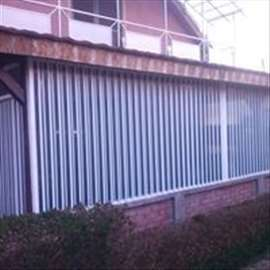 Zatvaranje terasa i balkona