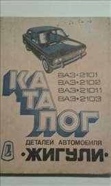 Žiguli katalog automobila VAZ 2101, 2102, 21011,
