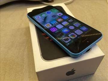 Iphone 5c Blue Sim Free Odlican
