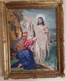 Wiehler goblen Marija Magdalena i Isus